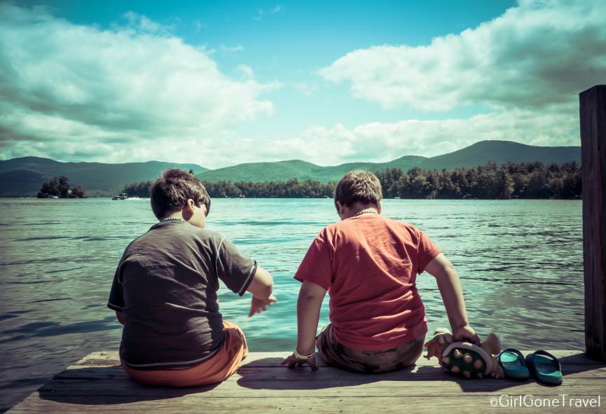 Lake George views